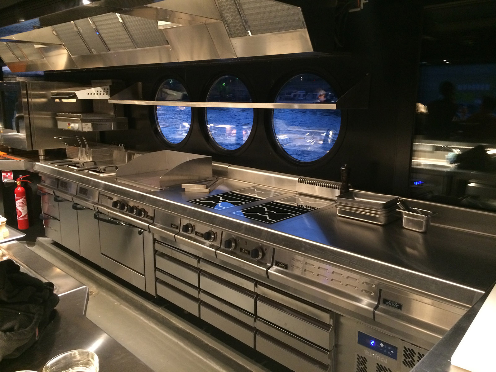 Réalisations de cuisines professionnelles
